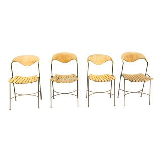 Vintage Mid Century Umanoff Dining Patio Chairs - Set of 4 For Sale