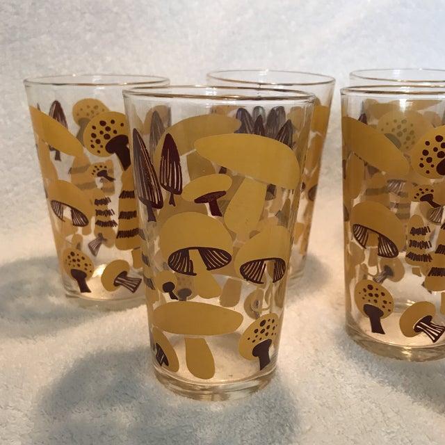 Mid-Century Modern Mushroom Glasses - Set of 8 - Image 5 of 10