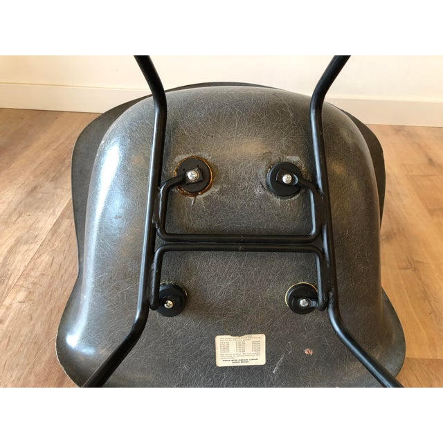 Eames Fiberglass Molded Side Chair for Herman Miller For Sale In Seattle - Image 6 of 13