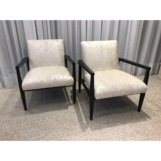 Mid-Century Style Chairs by Arhaus - a Pair For Sale - Image 13 of 13