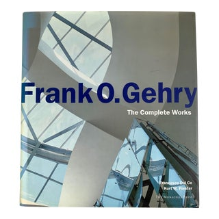 Frank O Gehry, the Complete Works by Francesco Dal Co. Modern Architecture Book 1998 For Sale