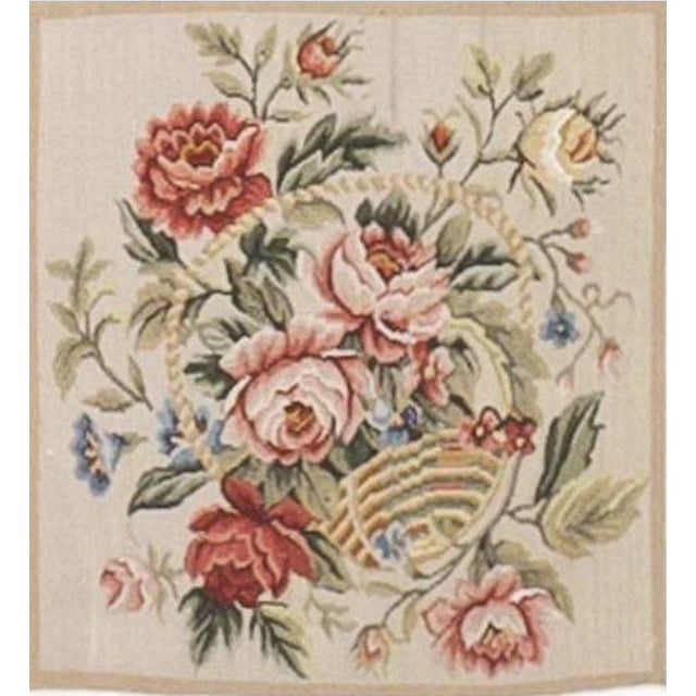 Chinese Floral Aubusson Rug - 5'x 8' - Image 6 of 9