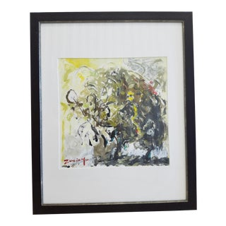 Zuxinyo Abstract Tree Painting For Sale