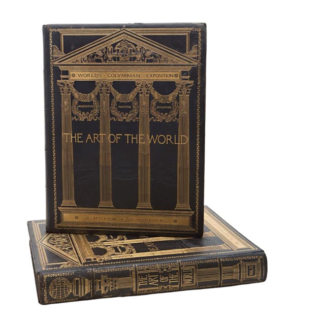 19th Century Art of the World Columbian Exposition Books - 2 Volumes For Sale