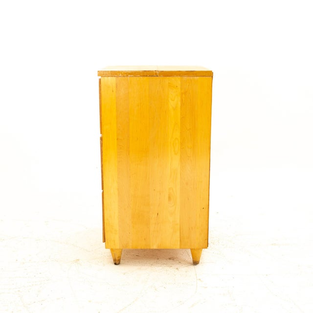 Mid 20th Century Paul McCobb Style Mid Century 3 Drawer Nightstand For Sale - Image 5 of 9