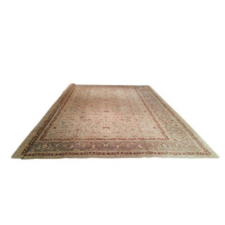 Traditional Hand Knotted Rug - 13′ X 17′10″ - Size Cat. 12x18 13x20 For Sale