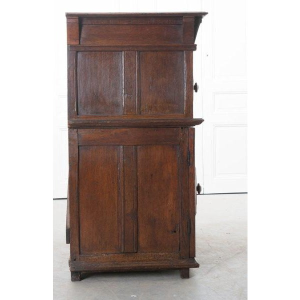 English 17th Century Charles II Oak Chest of Drawers For Sale - Image 10 of 13