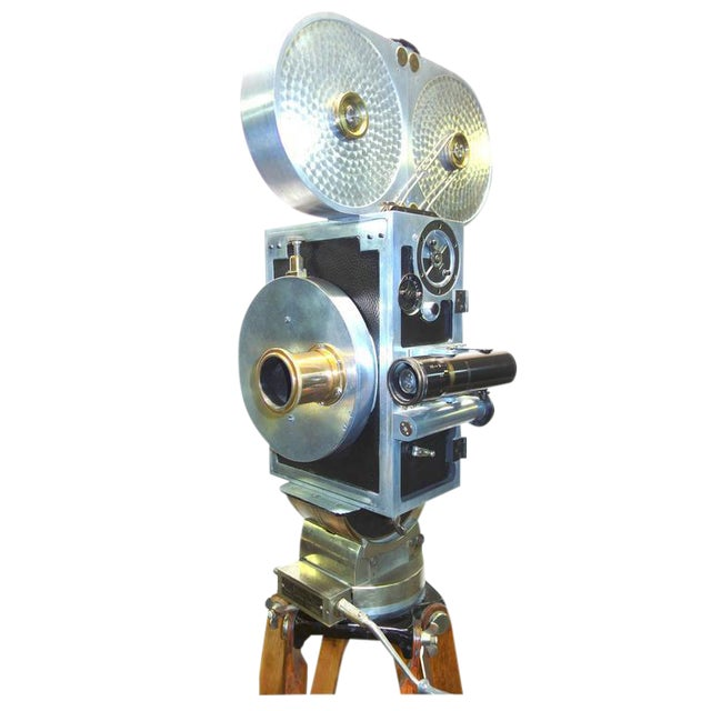 Wilart, 35mm Cinema Camera, One Off Factory Prototype, Circa 1919. Display As Sculpture. For Sale