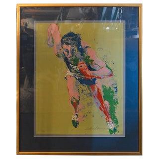 Leroy Neiman Olypic Runner Print For Sale