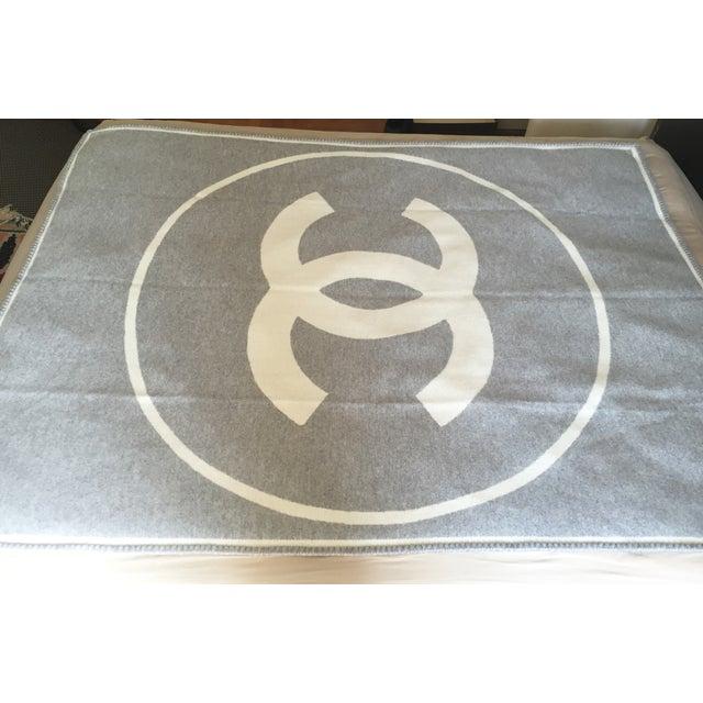 Chanel Wool Blanket - Image 6 of 6