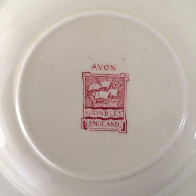 Ceramic Vintage Avon Pattern Grindley-England Serving Dishes - Set of 3 For Sale - Image 7 of 9