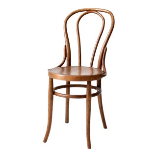 Antique Thonet Style Bentwood Chair For Sale
