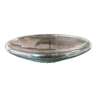 Fontana Arte Transparent Bowl For Sale