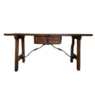 Antique 16th Century Late Renaissance Spanish Console Table For Sale