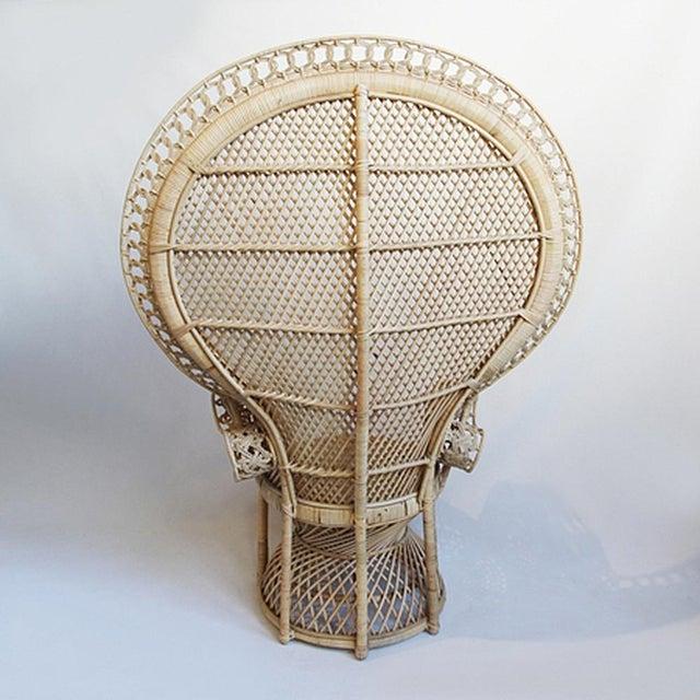 Rattan Loop Peacock Chair - Image 3 of 5