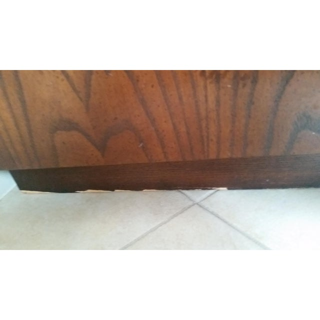 Wood & Brass Campaign Dresser - Image 7 of 7