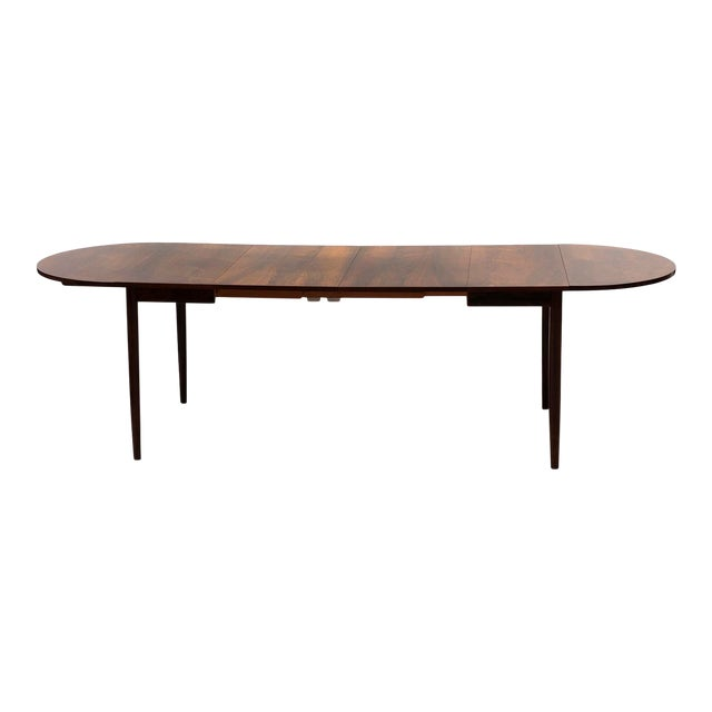 Niels Moller Extending Dining Table in Rosewood, Denmark 1950s For Sale