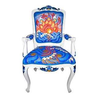 Louis XVI Hand-Painted Chair For Sale