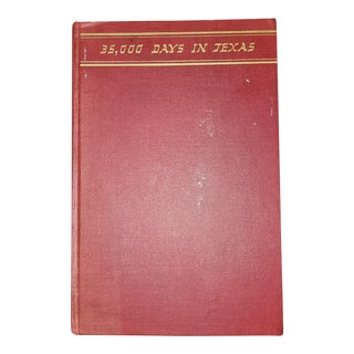 Vintage 35000 Days in Texas by Acheson 1st Edition For Sale