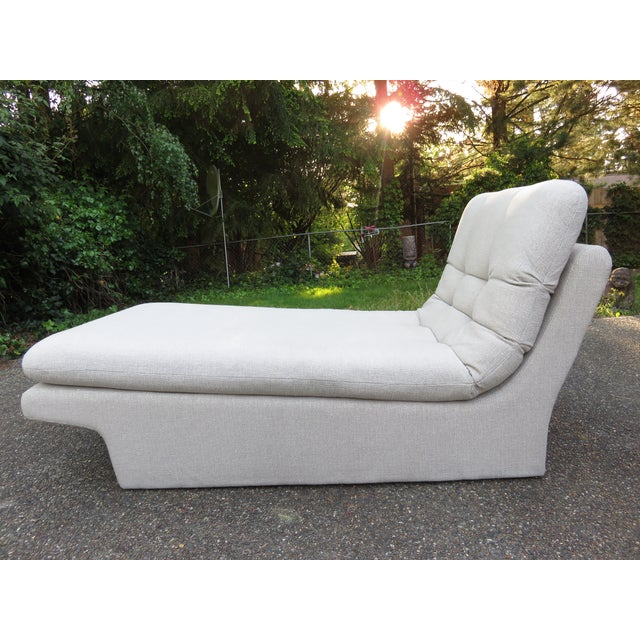 Vladimir Kagan-Style Sculptural Chaise Lounge - Image 2 of 10