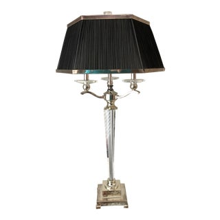 Hollywood Regency Style Heavy Table Lamps For Sale