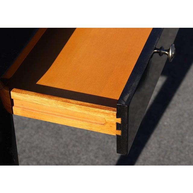 Metal Black Ralph Lauren One Fifth Paris Bureau Plat Writing Table Desk For Sale - Image 7 of 11