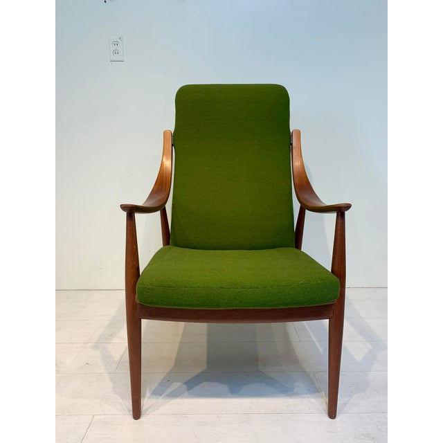 John Stuart Mid Century Modern Peter Hvidt & Orla Mølgaard-Nielsen for John Stuart Lounge Chair For Sale - Image 4 of 13