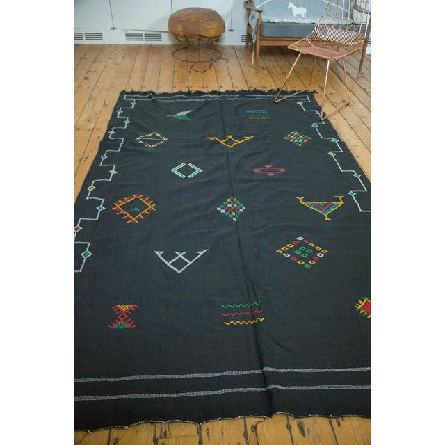 Textile New Kilim Carpet - 6' X 9' For Sale - Image 7 of 9