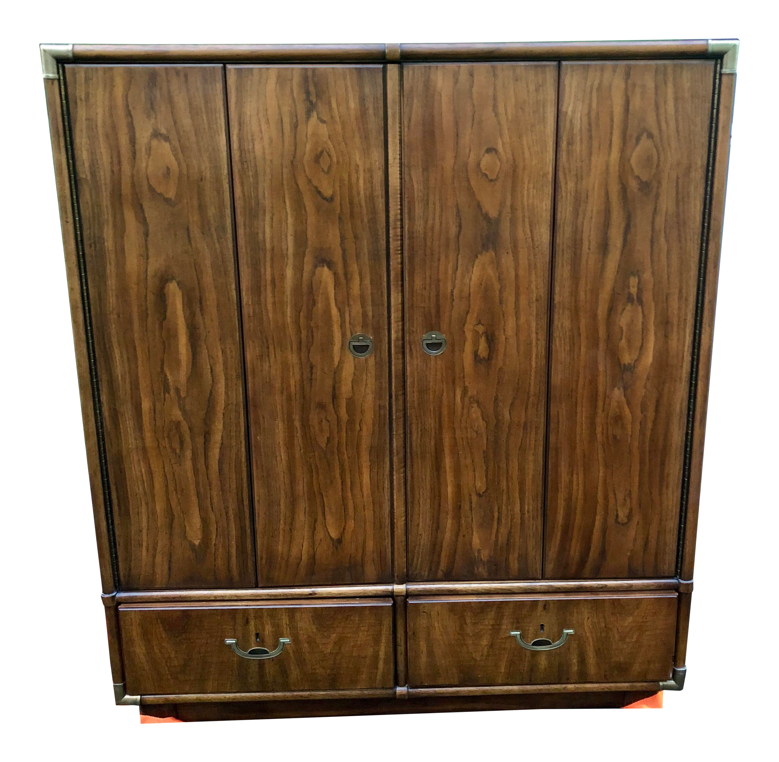 english antique armoire antique french 1976 drexel heritage accolade highboy armoire vintage used armoires wardrobes for sale chairish