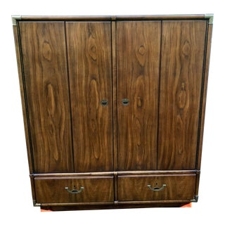1976 Drexel Heritage Accolade Highboy Armoire For Sale
