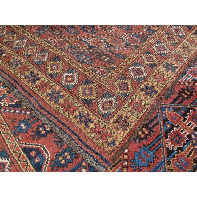 Textile Antique Beshir Turkmen Rug For Sale - Image 7 of 8