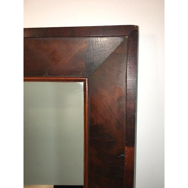 Antique Mahogany Mirror - Image 6 of 7