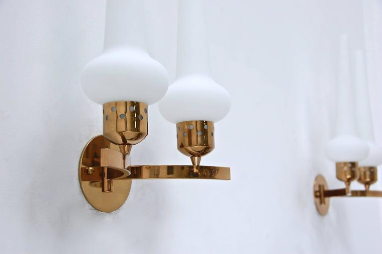 Double Shade Italian Sconces - Image 8 of 11  sc 1 st  Decaso & Lovely Double Shade Italian Sconces | DECASO