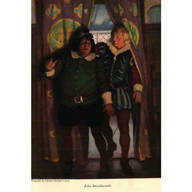 "A ""Westward Ho!"" book by Charles Kingsley. Illustrated by N. C. Wyeth. New York: Charles Scribner's Sons, 1924. 413 pages...."