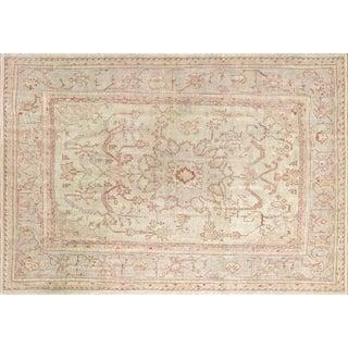 "Nalbandian - 1950s Turkish Oushak Carpet- 10' X 14'2"" For Sale"