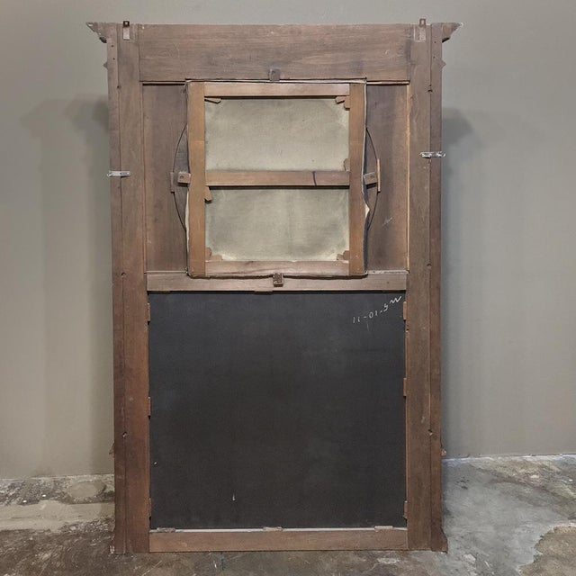 Trumeau, 19th Century French Henri II in Walnut For Sale - Image 11 of 12