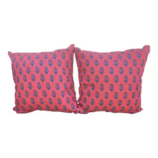 Peter Dunham Pillow Covers - A Pair For Sale
