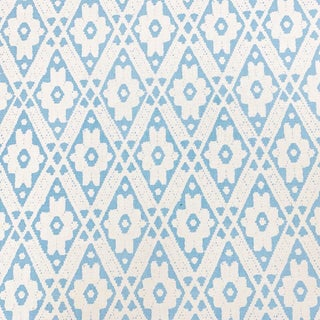 Boho Chic Quadrille Viennese Linen Designer Fabric by the Yard For Sale