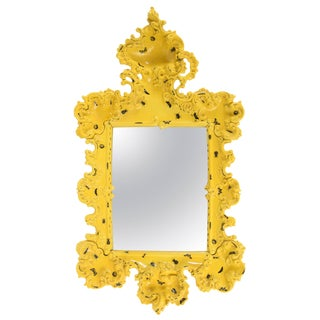 2010 Italian Furiosa Edition Yellow Ceramic Mirror