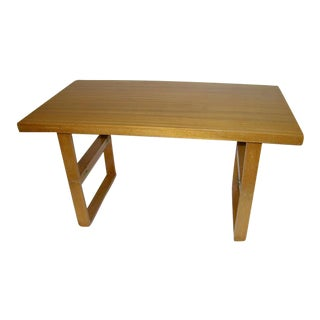 Van Keppel-Green Rectangular Cocktail Camel Table For Sale