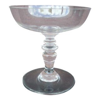 Baccarat Traditional Champagne Coupe For Sale