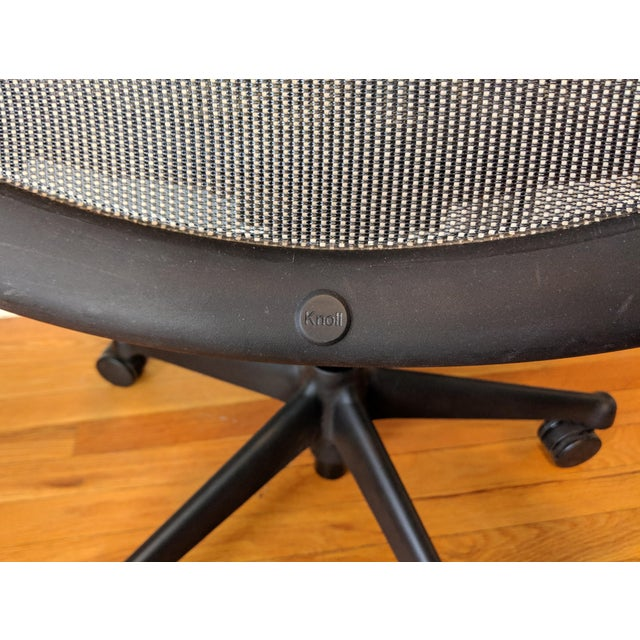Contemporary Knoll Chadwick Black Office Desk Chair For Sale - Image 11 of 12