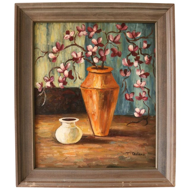 Vintage Framed Still Life Painting - Image 1 of 5