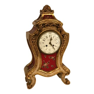 19th Century Mantle Clock For Sale