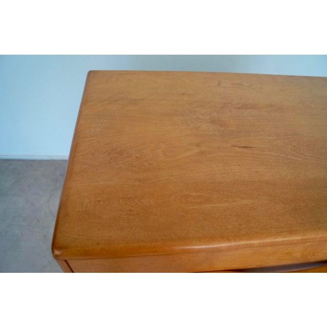 Brown 1930s Mid-Century Modern Heywood Wakefield Dresser For Sale - Image 8 of 13