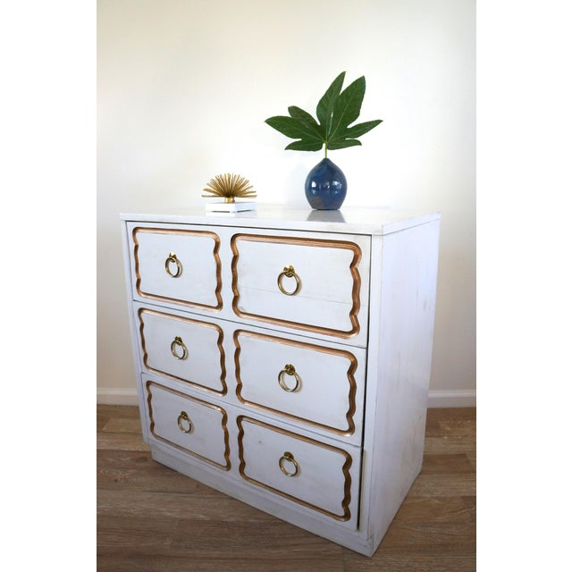 Dorothy Draper Espana Style Chest Dresser For Sale - Image 5 of 8