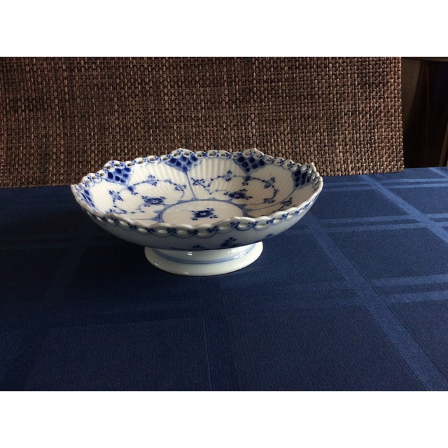 Royal Copenhagen Full Lace Footed Candy Dish - Image 3 of 5