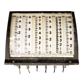 Electrical Measurement Gauge For Sale