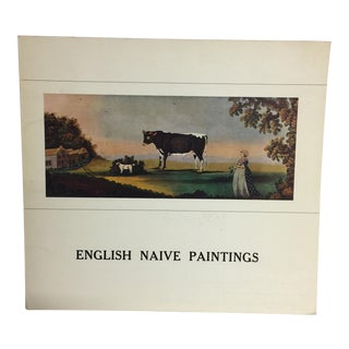 Book of English Naive Paintings, 1980 For Sale