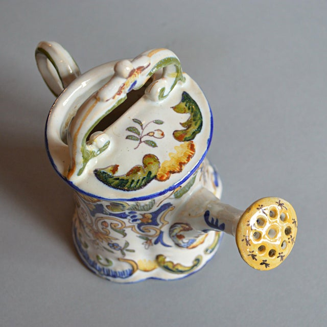 French Handpainted Watering Can - Image 4 of 5